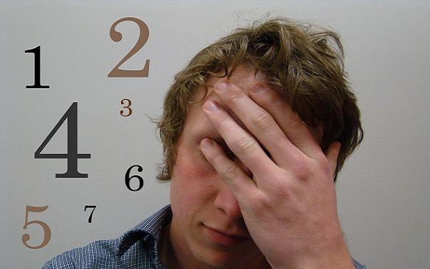 Mand med obsessiv-kompulsiv lidelse tager sig til hoved