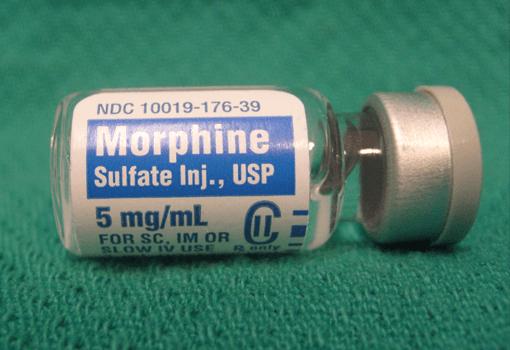 Morfin er eksempel på opioider