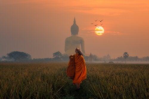 Buddhistisk psykologi til at håndtere smertefulde følelser