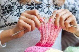 Kvinder nyder strikning