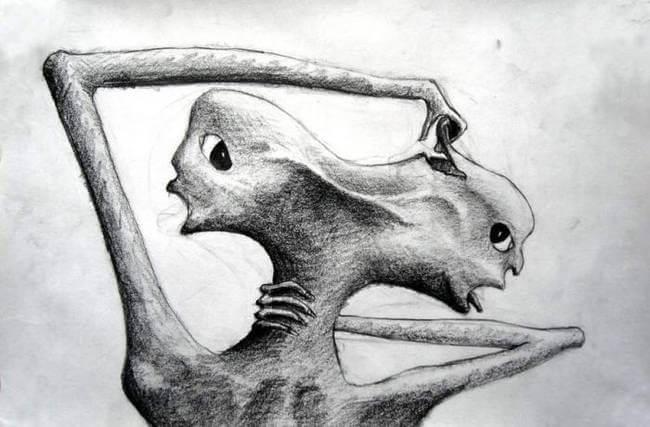 Illustration af psykose