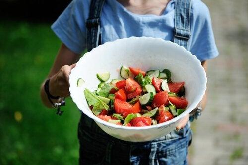 Salat kan bekæmpe følelsesmæssig sult