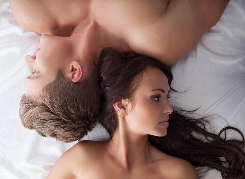Par i seng er plaget af lav sexlyst