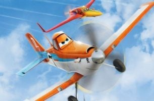 Dusty fra filmen, Flyvemaskiner, oppe i skyerne