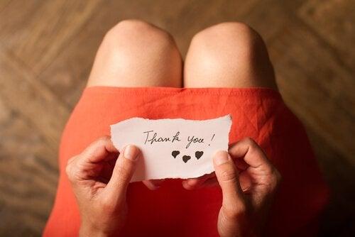 3 øvelser til at dyrke taknemmelighed