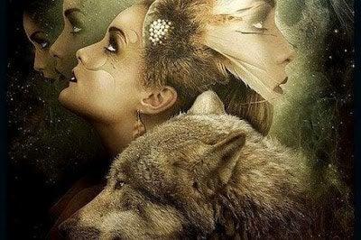 Kvinde og ulv