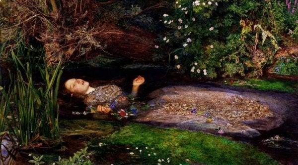 Kvinde begår selvmord i vand på grund af Werther-effekten