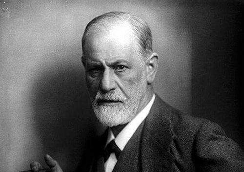 Portræt af Sigmund Freud