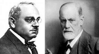 Alfred Adler og Sigmund Freud