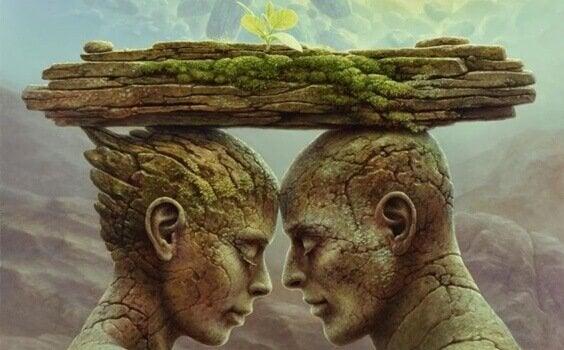 Spejlteorien og de sår, der skaber og ødelægger forhold