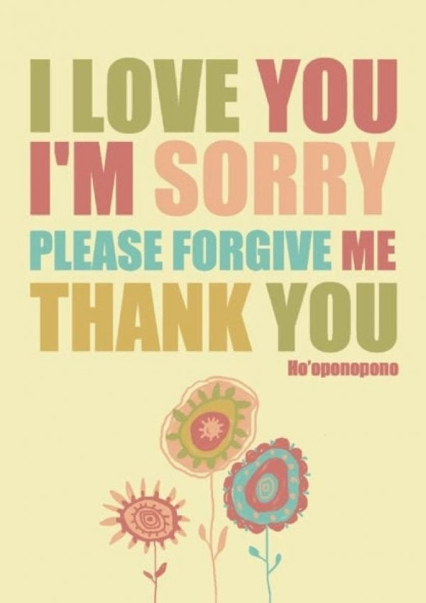 Tilgivelse kan føre til følelsesmæssigt ansvar