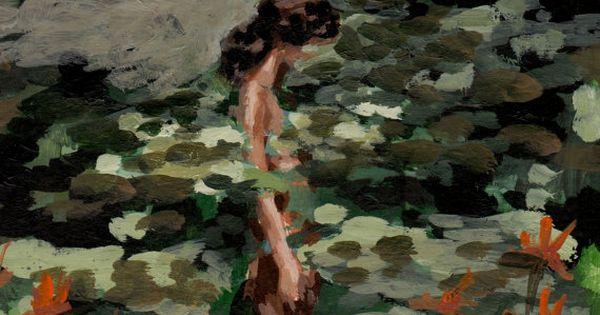Kvinde badet i åkander