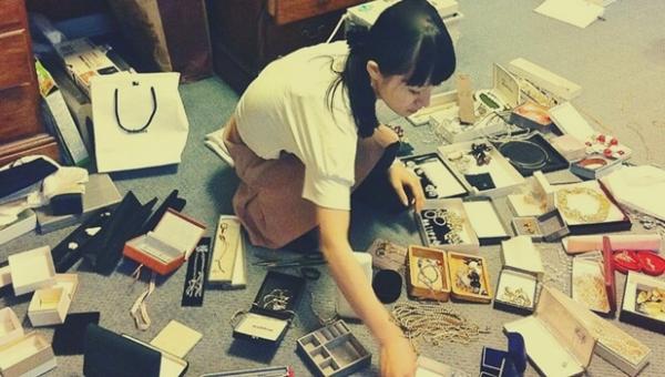 Marie Kondo rydder op i smykker
