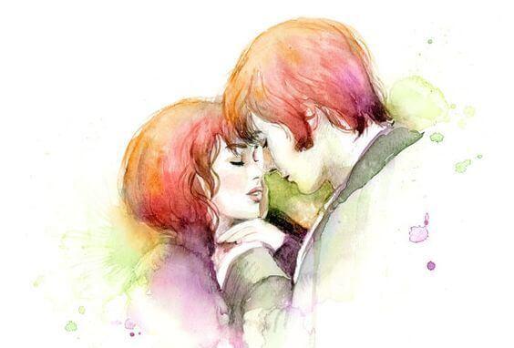 Tegning af par