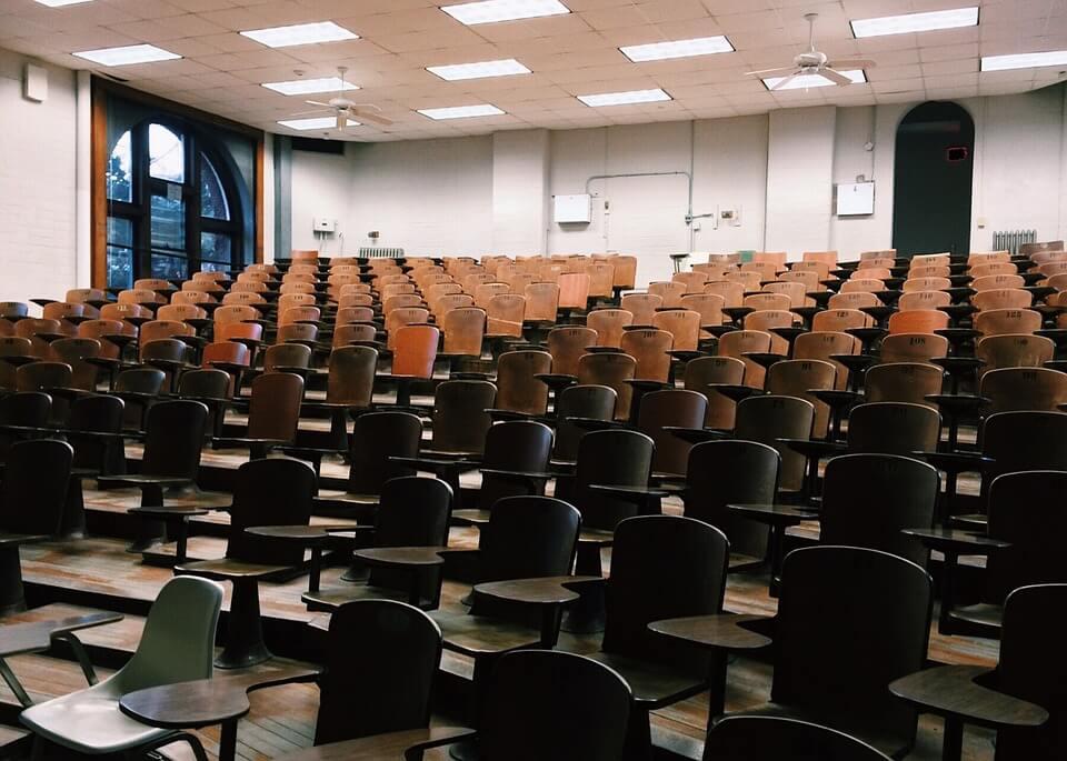Undervisningslokale er samlingspunkt for uddannelse