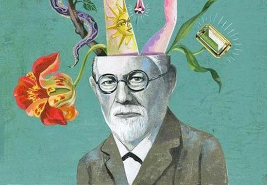 Freud er en af de større personer bag psykoanalyse
