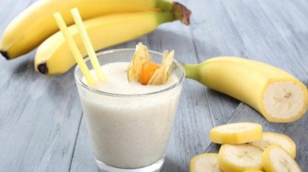 Banan er eksempel på naturlige anxiolytika
