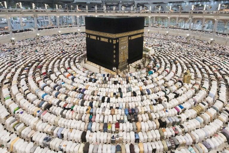 religion - bøn i Mekka
