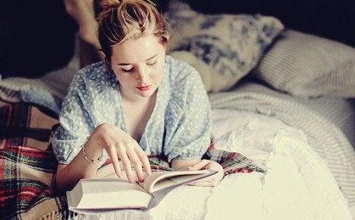At læse før sengetid: en vane din hjerne vil elske