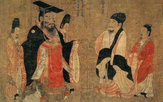 Kinesiske ordsprog illustreret med kinesiske mænd