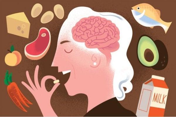 Sund kost kan være med at til undgå mangel på B12-vitamin