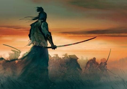 Samurai er ude på krigerens vej