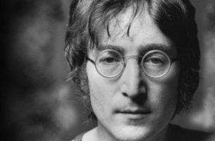 Portræt af John Lennon