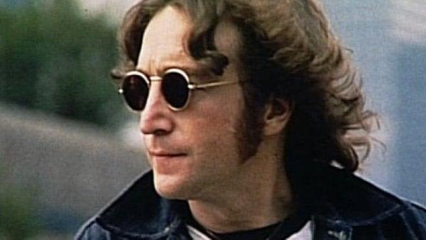 John Lennon med solbriller