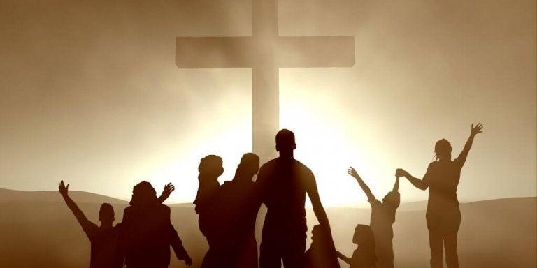 den kristne religion symboliseres ved korset