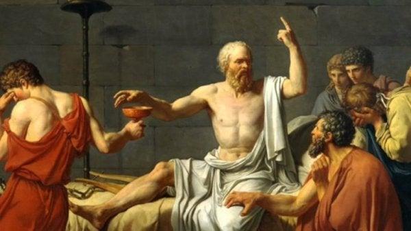Maleri af Demosthenes
