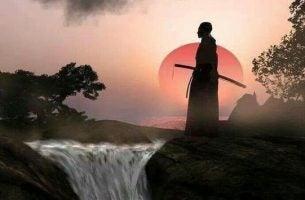 Samurai på krigerens vej møder vildt dyr