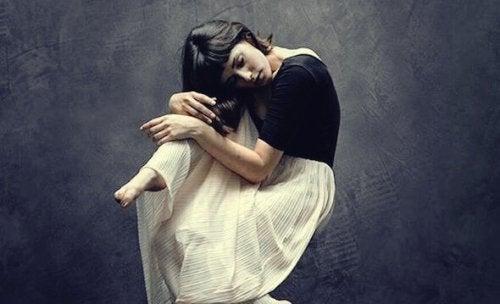 Det er meget hårdt at gemme følelser