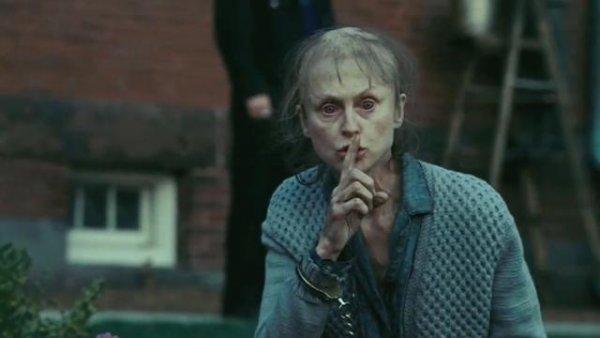 Sindssyg kvinde i filmen Shutter Island