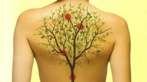 Hvordan er følelsers effekt på ryggen?