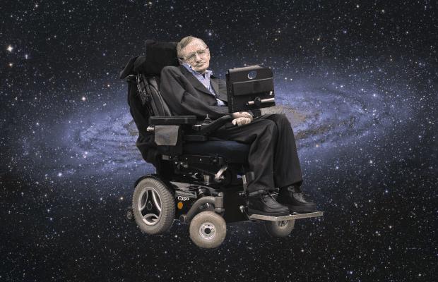 Stephen Hawking i rummet. Stephen Hawking citater