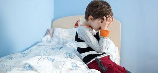 symptomerne på depression hos barn