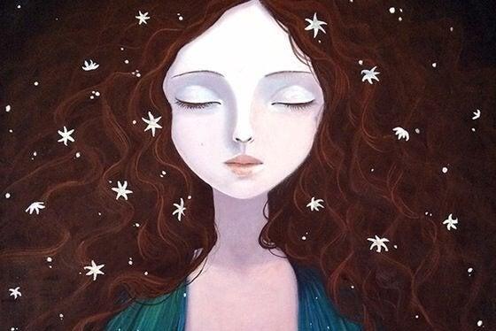 kvinde har intuition. udvikle din intuition