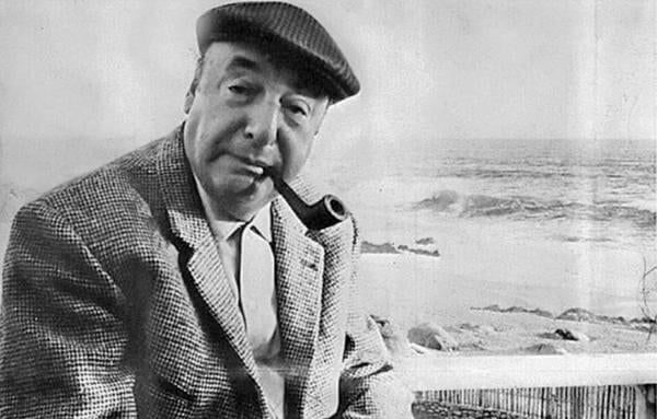 pablo neruda og hans digt keeping quiet