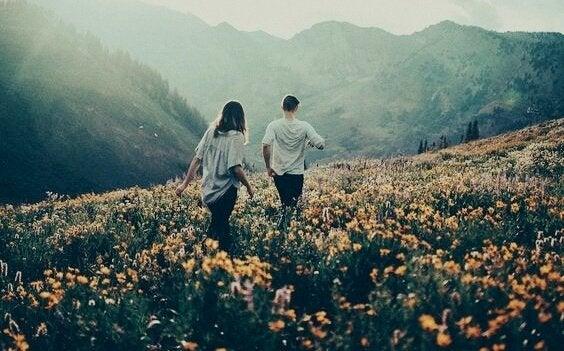 par finder meningen med livet. Viktor Frankl