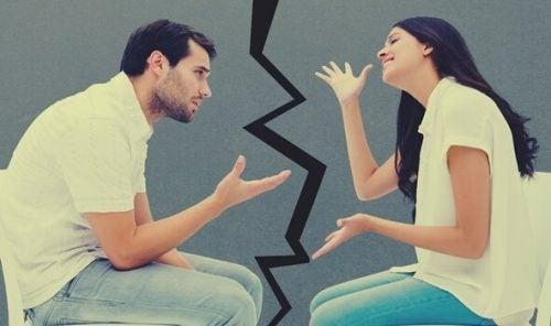 Par som skændes