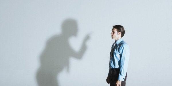 Mand skændes med sin egen skygge pga høj valmue syndrom