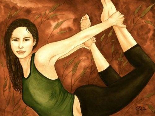3 måder at strække psoas, sjælens muskel, på.