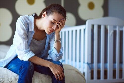 kvinde med udbrændthed syndromet