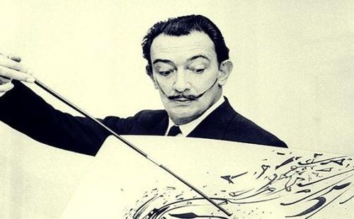Citater af Salvador Dali fortæller om en excentrisk maler