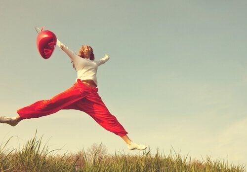 Positiv tænkning kan styrke dit selvværd