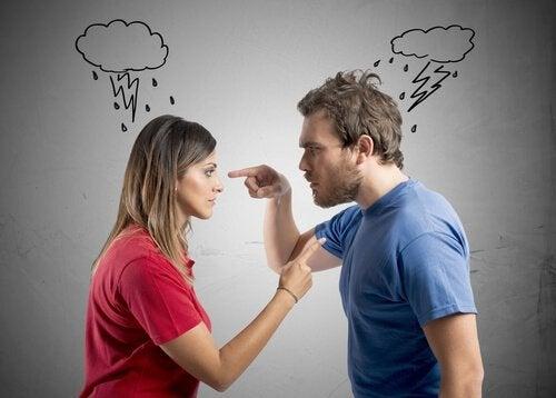 mand ødelægger personlige forhold