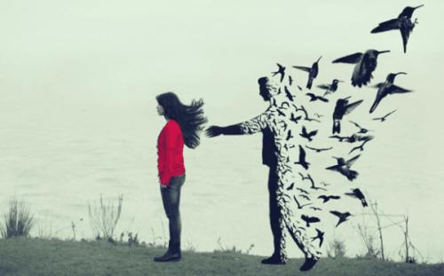 Når du oplever, din partner slår op uden forklaring