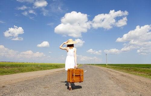 Svarer at vende hjem til et skridt tilbage?