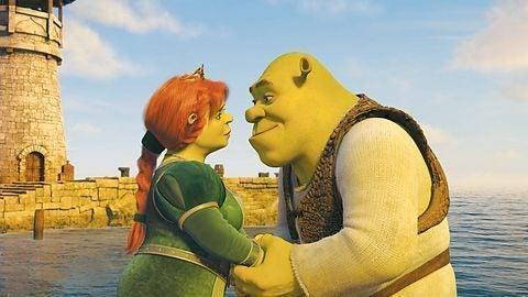 Shrek og Prinsesse Fiona