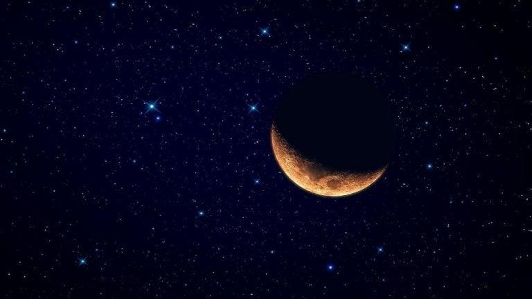 Aftagende måne